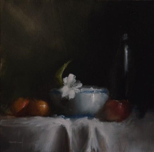 """""""Arrangement with Lilly"""" original fine art by Neil Carroll"""