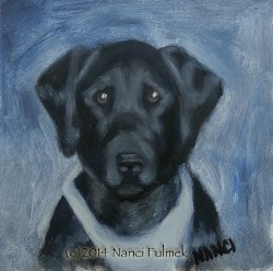 """Amanda"" original fine art by Nanci Fulmek"