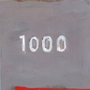 """""""#1000"""" original fine art by Lisa Daria"""
