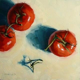 """Missing Tomato"" original fine art by Michael Naples"