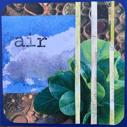 """Air"" original fine art by Maria McNitt"