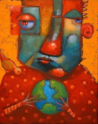 """Handle With Care"" original fine art by Brenda York"