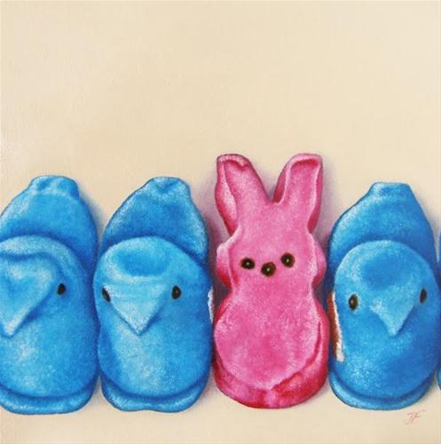 """""""One of These Is Not Like the Others"""" original fine art by Jelaine Faunce"""