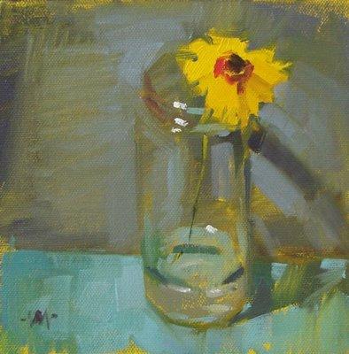 """""""Hungover"""" original fine art by Carol Marine"""