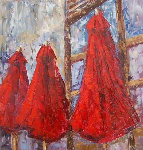 """Second Blush"" original fine art by Deborah Harold"
