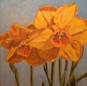 """Spring Has Sprung"" original fine art by Robert Frankis"
