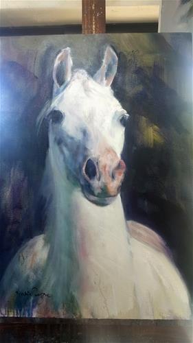 """Arab"" original fine art by Rentia Coetzee"