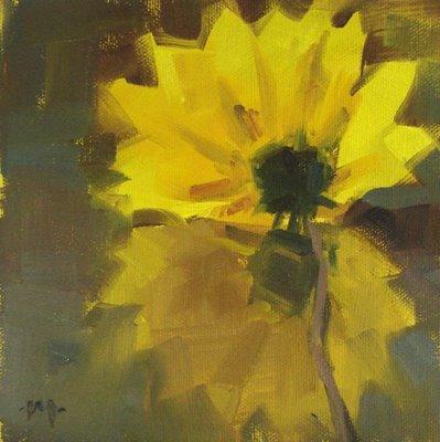 """A Little Reflection"" original fine art by Carol Marine"