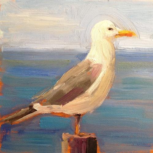 """""""Posing for a Portrait"""" original fine art by Deborah Newman"""