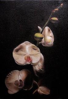"""""""Orchids"""" original fine art by Jonathan Aller"""