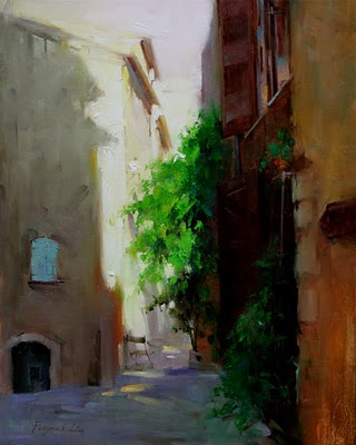 """Landscape Series (Provence, France 04-08-2010)"" original fine art by Fongwei Liu"