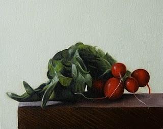 """""""Radishes"""" original fine art by Jonathan Aller"""