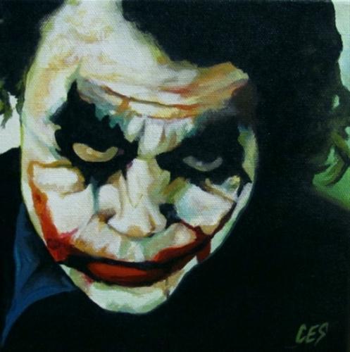 """Heath's Circus of Chaos"" original fine art by ~ces~ Christine E. S. Code"