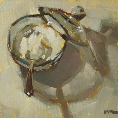 """""""Sugar --- SOLD"""" original fine art by Carol Marine"""