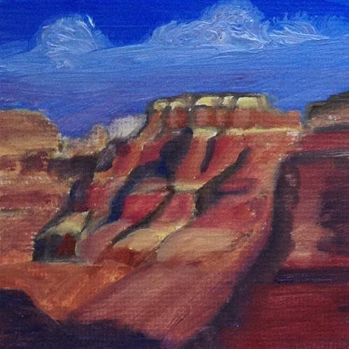 """Grand Canyon Beauty"" original fine art by Michelle Wolfe"