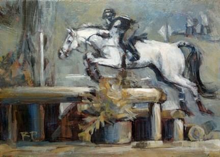 """""""Fly Like Wind"""" original fine art by Robin Peterson"""
