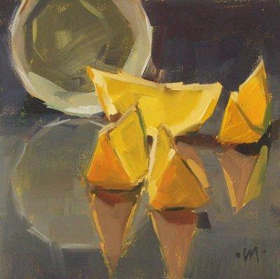 """Grazing"" original fine art by Carol Marine"
