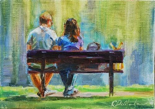 """Summertime Magic"" original fine art by Carol DeMumbrum"