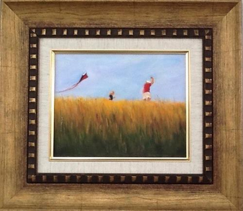 """""""Up, up and away"""" original fine art by Linda Carney"""