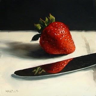 """Reflecting"" original fine art by Michael Naples"