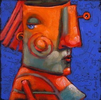 """Vickie's Secret"" original fine art by Brenda York"