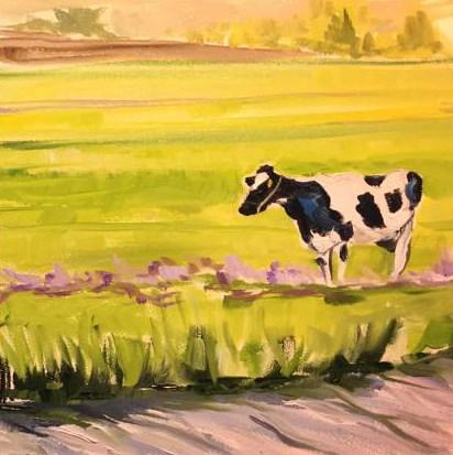 """""""The Journey"""" original fine art by Lauren Kuhn"""