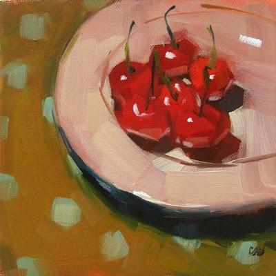 """Private Party --- SOLD"" original fine art by Carol Marine"