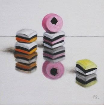 """""""All Sorts"""" original fine art by Pera Schillings"""