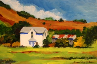 """Along 129"" original fine art by JoAnne Perez Robinson"