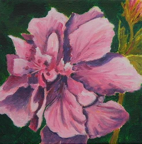 """Double Hibiscus"" original fine art by Gloria Urban"