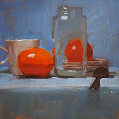 """Fruity Tutti"" original fine art by Carol Marine"