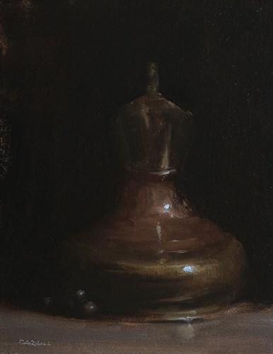"""Brass and Copper Jug"" original fine art by Neil Carroll"