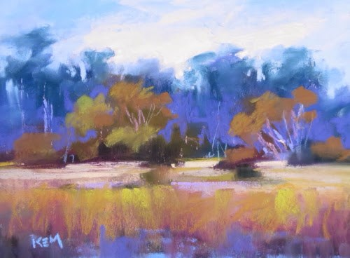 """Pawleys Island Day 2....Hanging out at the Creek"" original fine art by Karen Margulis"
