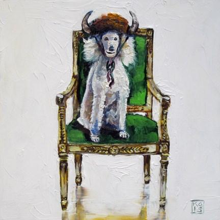 """bowsy-wowsy"" original fine art by Kimberly Applegate"