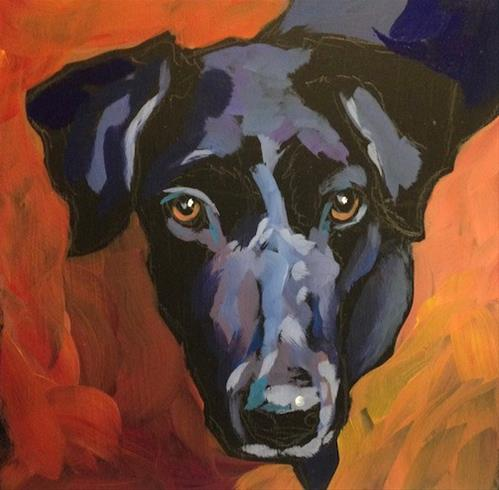 """Maddy"" original fine art by Kat Corrigan"