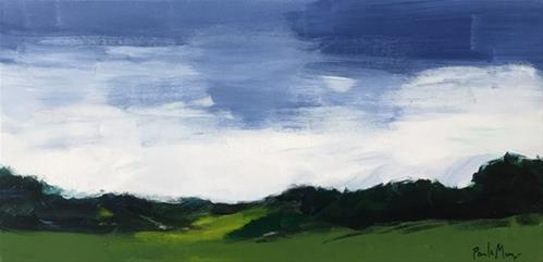 """""""Summer Green"""" original fine art by Pamela Munger"""