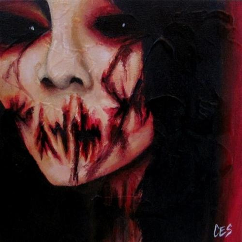 """It Doesn't Hurt"" original fine art by ~ces~ Christine E. S. Code"