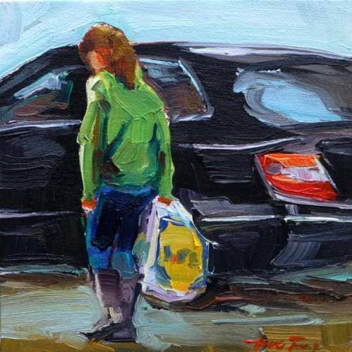 """""""auf dem Weg nach Hause"""" original fine art by Jurij Frey"""