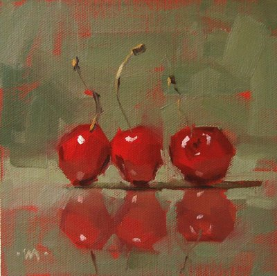"""Three Stooges"" original fine art by Carol Marine"