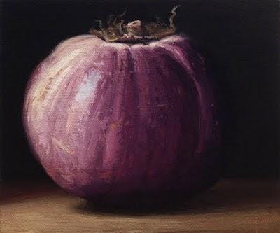 """""""Sicilian Eggplant"""" original fine art by Abbey Ryan"""