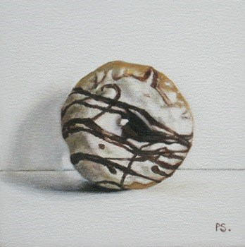 """Doughnut"" original fine art by Pera Schillings"