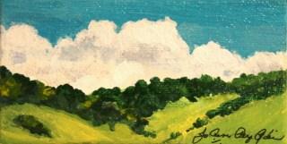 """Thanks to Some Rain"" original fine art by JoAnne Perez Robinson"