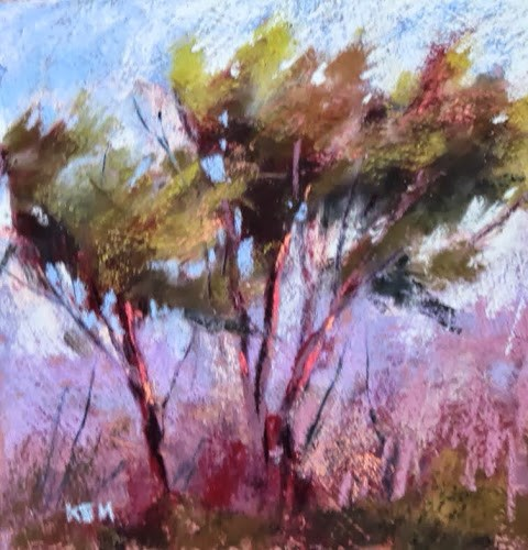 """Pawleys Island Day 3....Painting Island Style"" original fine art by Karen Margulis"