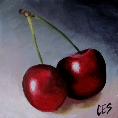 """CES Shelf Sitter: BFFs"" original fine art by ~ces~ Christine E. S. Code"