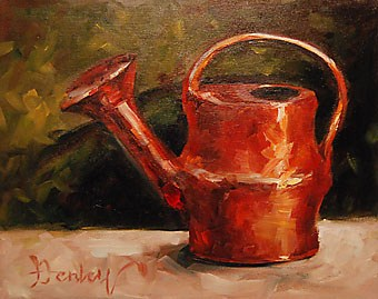 """""""The water can"""" original fine art by Denise Henley"""