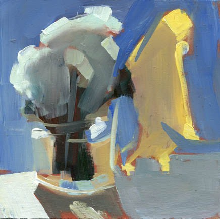 """1078 The Shaded Side"" original fine art by Lisa Daria"