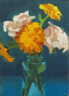 """FOR YOU"" original fine art by Helen Cooper"