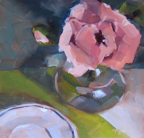 """Poppy"" original fine art by Katia Kyte"
