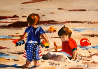 """""""The Right Tools for the Job"""" original fine art by JoAnne Perez Robinson"""