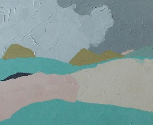 """""""Summer Fields"""" original fine art by Pamela Munger"""